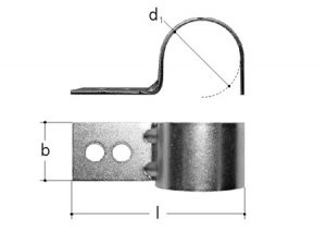 Clip fermatubi-GF-Tubiplast