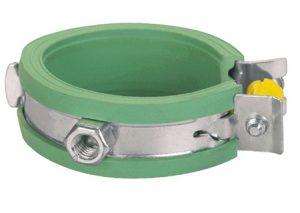 Collare di fissaggio con inserto in gomma INSTAFLEX-GF-Tubiplast