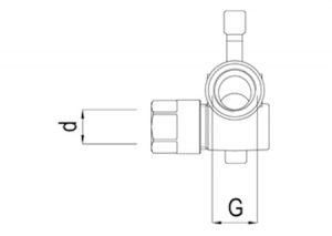 Raccordo scorrevole sinistro-GF-Tubiplast