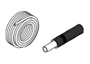 Tubo multistrato per gas con guaina corrugata gialla-GF-Tubiplast