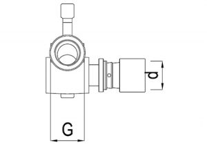 Raccordo scorrevole destro-GF-Tubiplast
