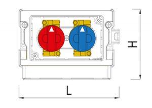 Valvola Duplex Express-GF-Tubiplast