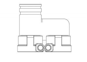 Attacco rapido sdoppiatore-GF-Tubiplast
