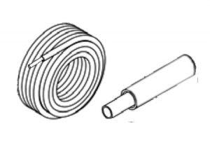 Tubo multistrato isolato ALPOL CLIMA – bianco-GF-Tubiplast