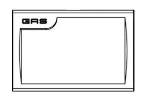 Placca per cassetta ispezionabile – valvola ad incasso d20 con manopola-GF-Tubiplast