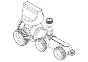 Collettore Gas con valvola di intercettazione-GF-Tubiplast