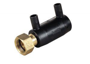 Manicotto PE ottone con ghiera libera 49410-Plasson-Tubiplast