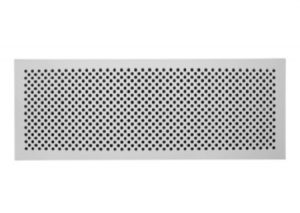 Griglia design Zehnder Pisa per CLD con attacco multiplo (430 x 160 mm)-Zehnder-Tubiplast
