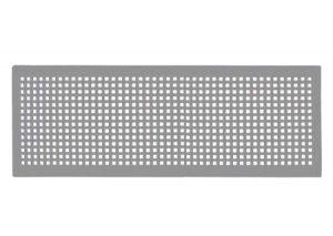 Griglia design Zehnder Torino per CLD con attacco multiplo (430 x 160 mm)-Zehnder-Tubiplast