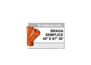 Braga semplice 45° e 67° 30′-Stabiplastic-Tubiplast
