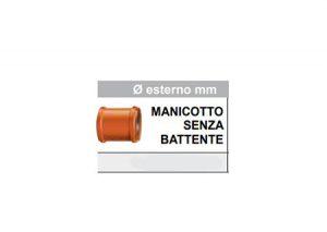 Manicotto senza battente-Stabilplastic-Tubiplast