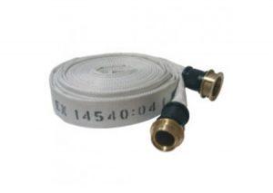 Manichetta DN 45 certificazione UNI-EN 14540 mod. PU raccordatura UNI 7422 con raccordo DN 45 a norma UNI 804 mt 20-Bocciolone-Tubiplast