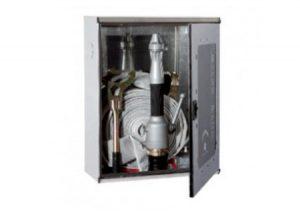 Cassetta Naspo orientabile da incasso modello slimmy UNI EN 671-1 marcato CE mt 20-Bocciolone-Tubiplast