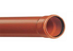 Tubo SN8 3 metri a norma UNI EN 1401-Stabilplastic-Tubiplast