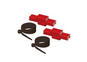 Kit di fissaggio collettori complanari alla cassetta in plastica Itap-Tubiplast