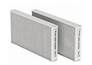Coppia di filtri per ComfoAir 160 – ISO Coarse 65% per mandata e ripresa (G4/G4)-Zehnder-Tubiplast