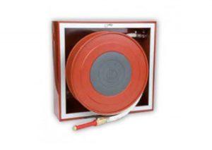 Naspo orientabile a parete da interno UNI EN 671-1 marcato CE certificato N. 0497-CPR-171-Bocciolone-Tubiplast