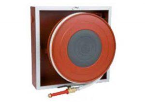 Cassetta Naspo orientabile da incasso modello slimmy UNI EN 671-1 marcato CE mt 20-GF-Tubiplast