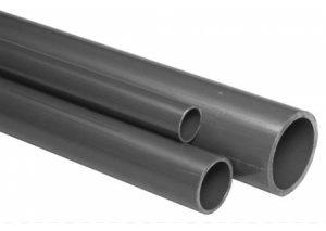 Tubo PVC-U filettabile PN16 in barre Tubiplast