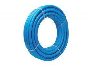 Tubo multi-calor isoline azzurro rivestito Aquatechnik-Tubiplast