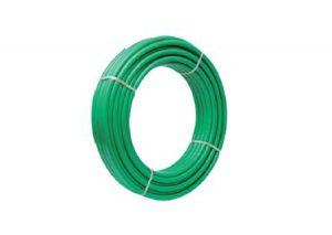Tubo multi-calor isoline verde rivestito Aquatechnik-Tubiplast