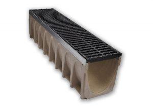 Canalina in calcestruzzo polimerico MULTIV+200 mm 1000 Ulma-Tubiplast